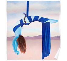 """Balance, original acrylic painting, 38""""x34"""" Poster"""