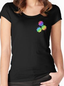 MLP - Cutie Mark Rainbow Special - Cheerilee V2 Women's Fitted Scoop T-Shirt