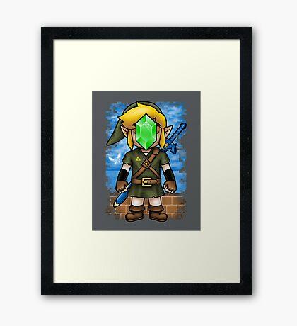 Son of Hyrule Framed Print