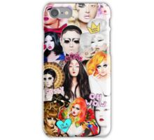 Kim Chi collage iPhone Case/Skin