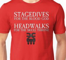 Stagedives for Khorne Unisex T-Shirt