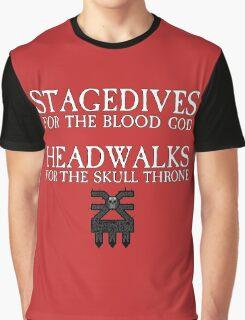 Stagedives for Khorne Graphic T-Shirt