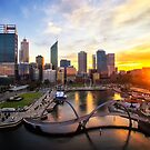 Perth City Colours by Kirk  Hille