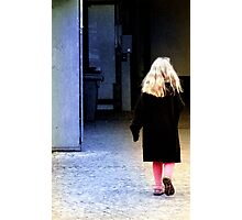 Little Girl... Photographic Print