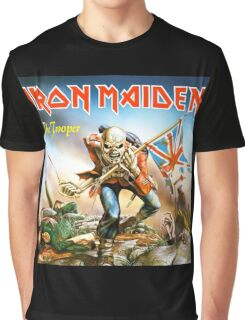 IRON MAIDEN THE TROOPERS Graphic T-Shirt