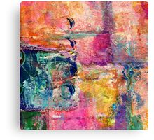 Abstract patchwork #2 Canvas Print