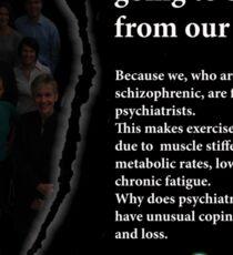 Schizophrenia awareness Sticker