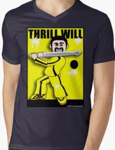 Thrill Will Mens V-Neck T-Shirt