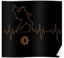 Heartbeat Junkrat Poster