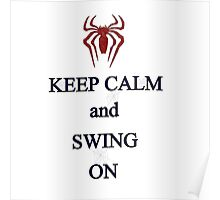 Keep Calm and Swing On Poster