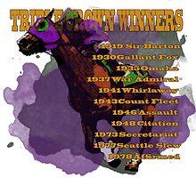 Triple Crown Winners by Ginny Luttrell