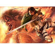 Attack on Titan 13 Photographic Print
