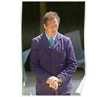 Monty Don at RHS Chelsea Flower Show Poster