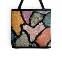 Knit Abstract Tote Bag