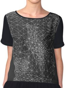 Caught In The Web Chiffon Top