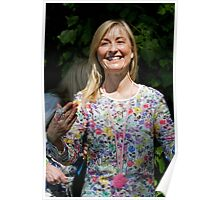 Fiona Phillips at RHS Chelsea Flower Show Poster