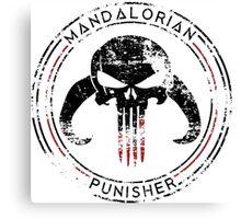 Mandalorian Punisher Canvas Print