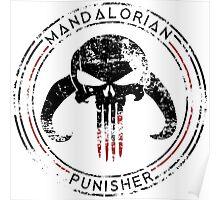 Mandalorian Punisher Poster