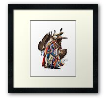 Eagle Dancer Framed Print
