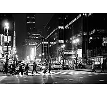 Night Life Photographic Print