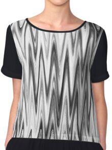 WAVY-1 (Grays & White)-(9000 x 9000 px) Chiffon Top