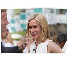Piers Morgan & Sophie Raworth at RHS Chelsea Flower Show Poster