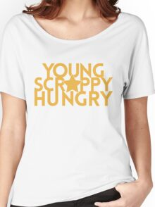 Musical T-shirt - Young Scrappy Hungry  Women's Relaxed Fit T-Shirt