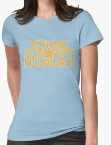 Musical T-shirt - Young Scrappy Hungry  Womens Fitted T-Shirt