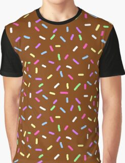 Chocolate Sprinkles Graphic T-Shirt