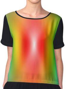 Rainbow confused Chiffon Top