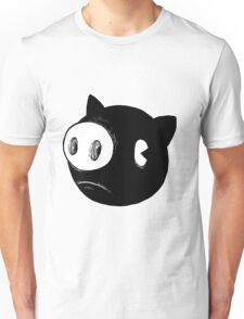 Circle Pig Unisex T-Shirt