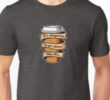 Take Coffee Unisex T-Shirt