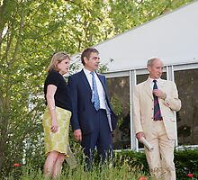 Rowan Atkinson at RHS Chelsea Flower Show by Keith Larby