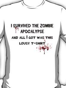 Zombie Shirt T-Shirt