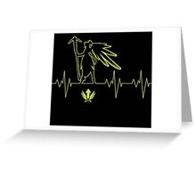 Heartbeat Mercy Greeting Card