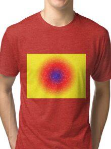 Yellow through the net Tri-blend T-Shirt