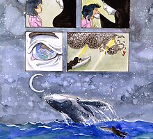 Comic Page Pillow by gurukitty