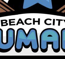 Beach City Humans Sticker