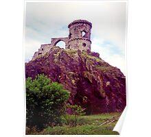 Mow Cop Castle, Fuji Velvia Poster