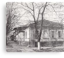 Hand drawn old architecture Metal Print