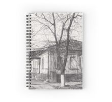 Hand drawn old architecture Spiral Notebook