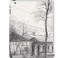 Hand drawn historical architecture iPad Case/Skin