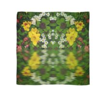 Summer Flowers Reflect Scarf