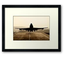 jumbo Take-off Framed Print