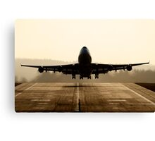 jumbo Take-off Canvas Print