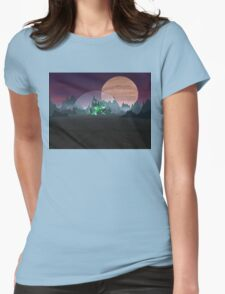 The Domed City Womens Fitted T-Shirt