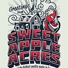 Greetings from Sweet Apple Acres - Variant by Gilles Bone
