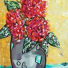 """""""Carolyn's Roses"""" by Deborah Glasgow"""