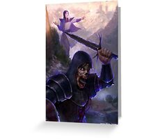 Necromancy Greeting Card