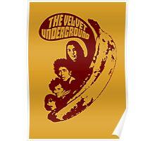 VU Banana (brown) Poster